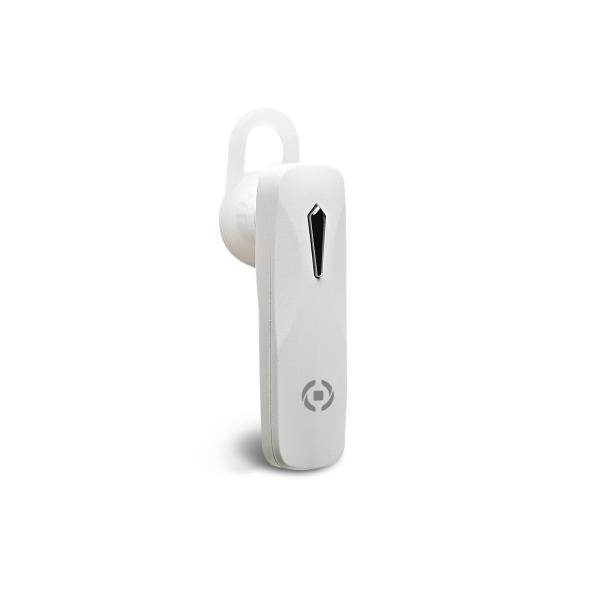 Auricolare bluetooth Celly mono headset white BH10WH