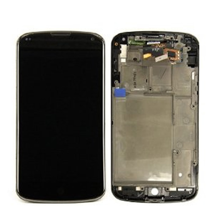 Display Lcd Lg Nexus 4 E960 black compatibile