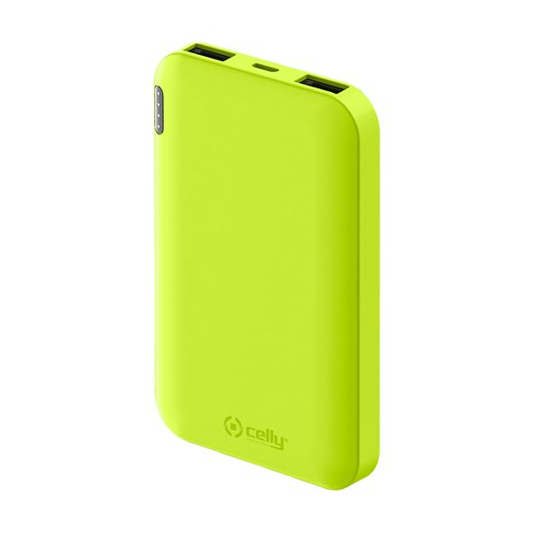 Power Bank Celly 5000mAh yellow PBE5000YL