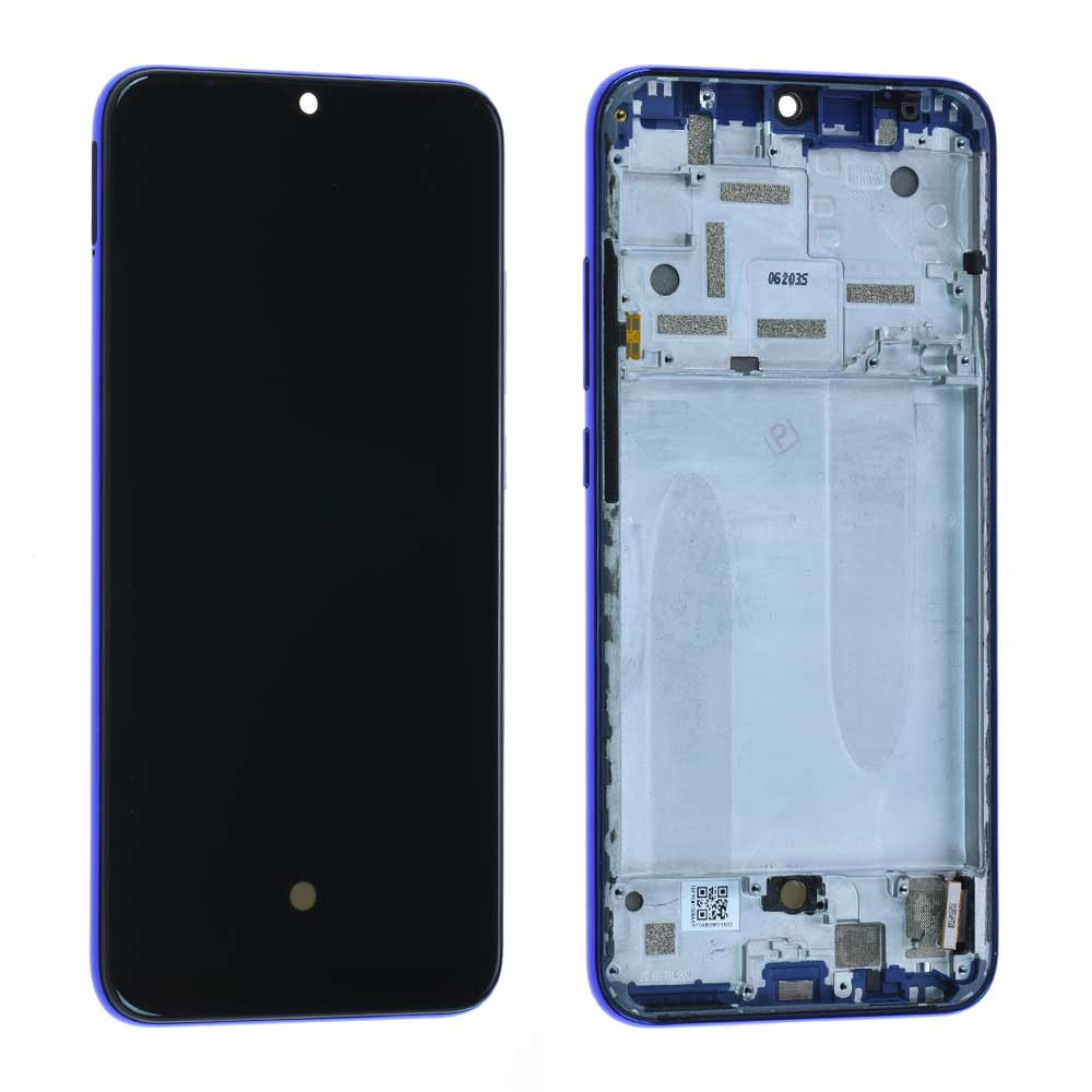 Display Lcd Xiaomi Mi A3 blue 5610100380B6